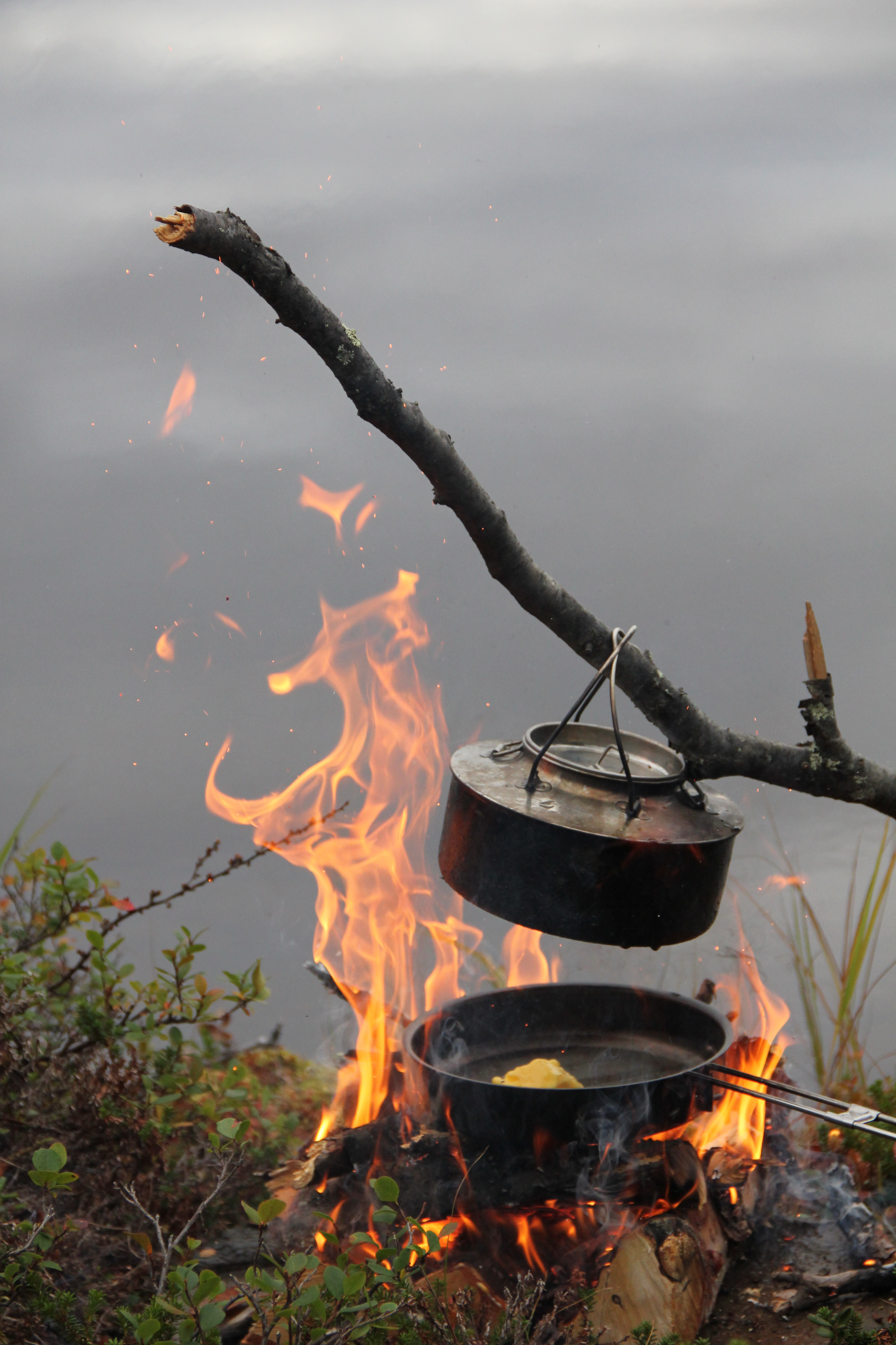 campfire cooking norway