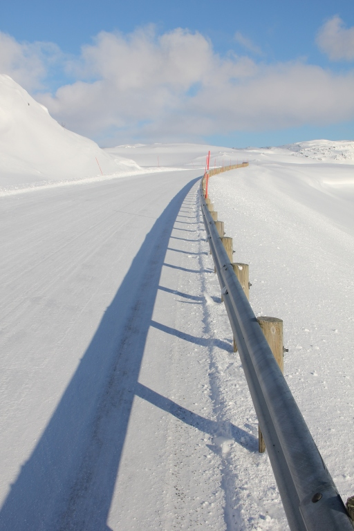 winter roads, winter, norway, north cape, snow
