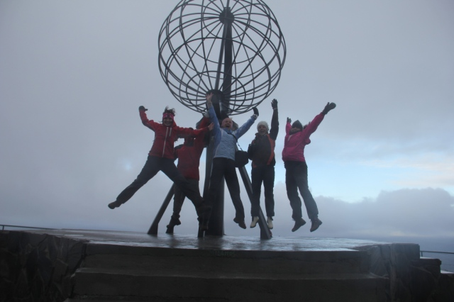 Nordkapp, North Cape, Arctiic Race