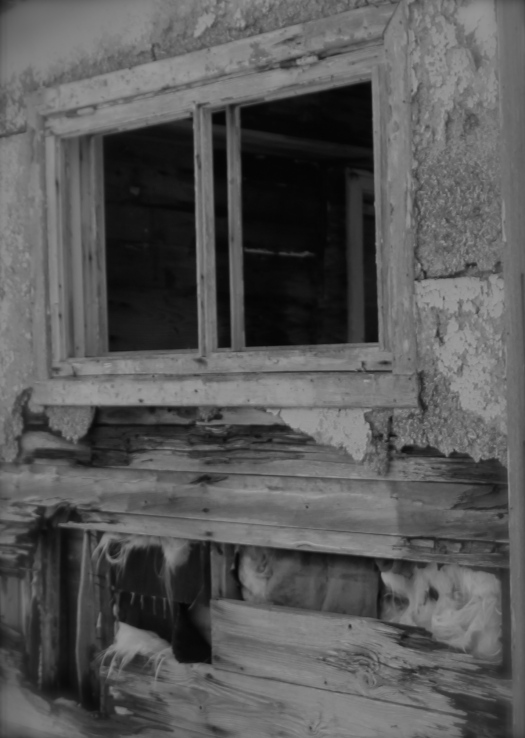 ghosts, abandoned building