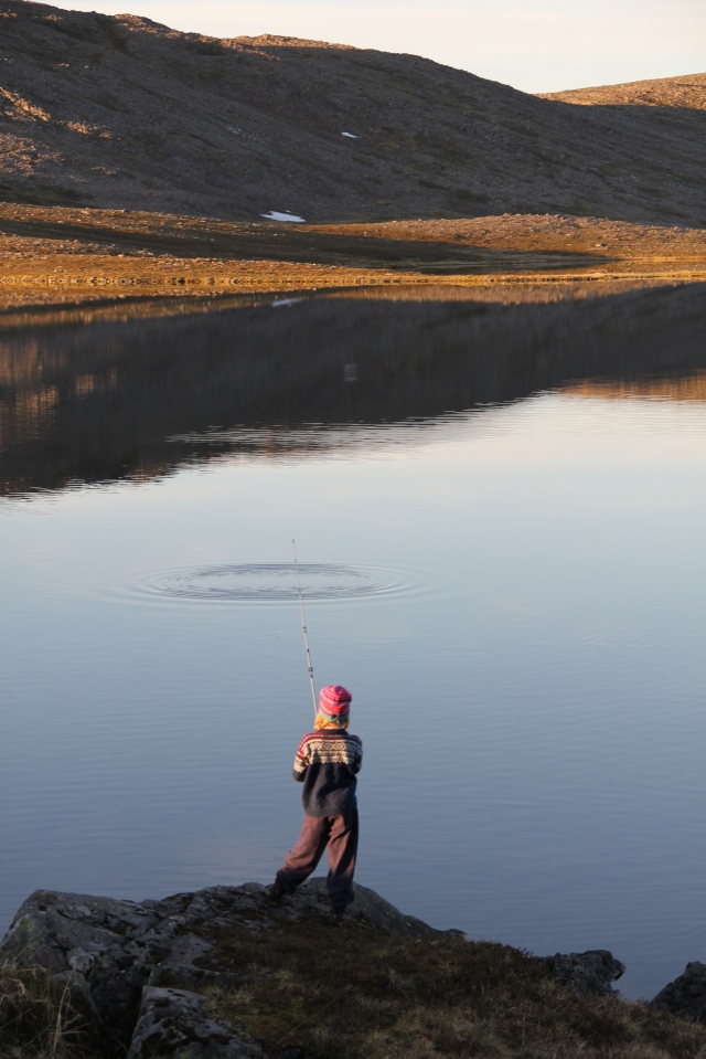 Fishing, outdoors, Norway, North Cape